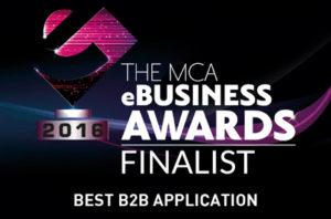 Shireburn Best B2B App finalist at MCA eBusiness Awards